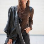 LEATHER LOOK FOR THE WEEKEND